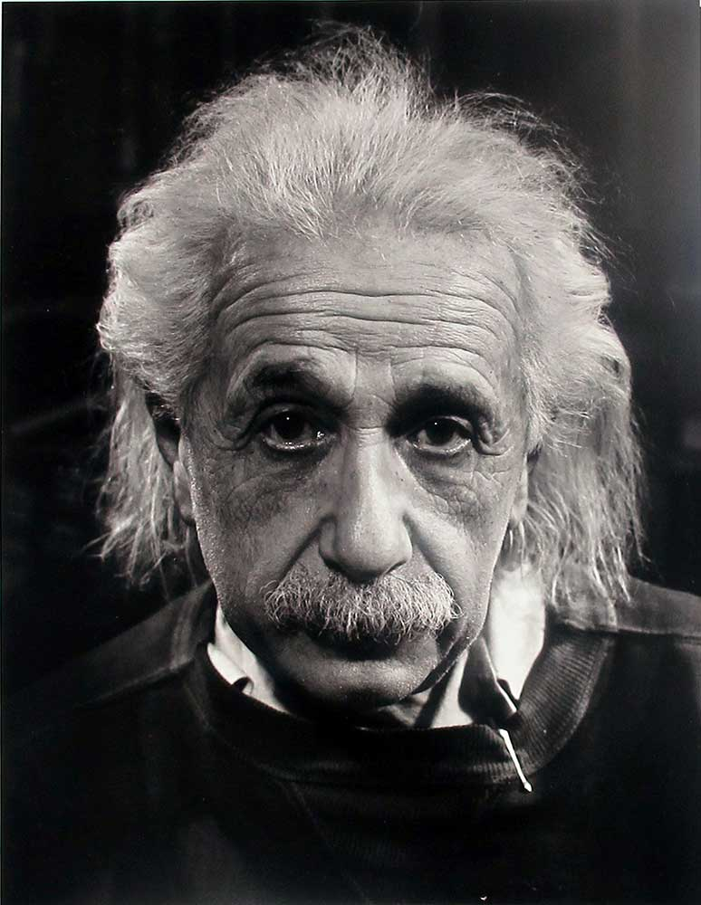 Prof, Albert Einstein at Princeton, NJ - Philippe Halsman | FFOTO