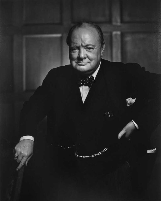 Winston Churchill, Ottawa [Smile] - Yousuf Karsh | FFOTO