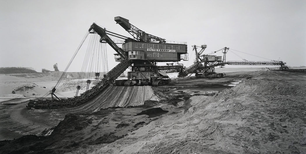 Bucket Chain Excavator, Lignite Mine, Profen, Germany