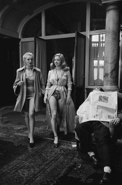Diana Dors On Location