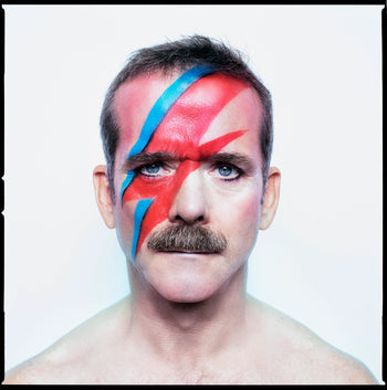 FFOTO-Christopher Wahl-Chris Hadfield as Aladdin Sane