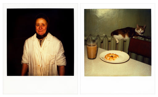 Leningrad small tea room - diptych