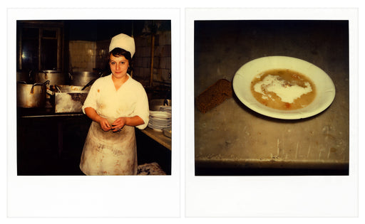 Leningrad soup kitchen - diptych