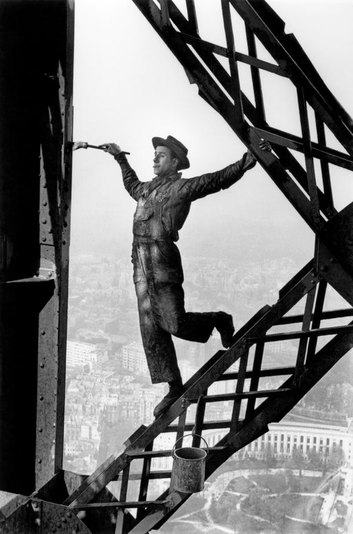 The Painter on the Eiffel Tower, Paris