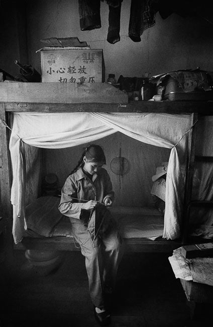 Worker in a Factory Dormitory, Kunming, China