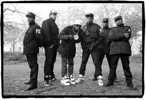 (Temporarily unavailable) Public Enemy in Hyde Park, London, UK, 2 November 1987,