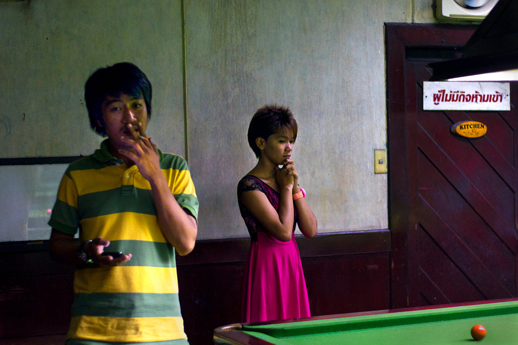 Bangkok Snooker, Untitled #2,