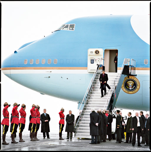 Obama / Air Force One , Ottawa