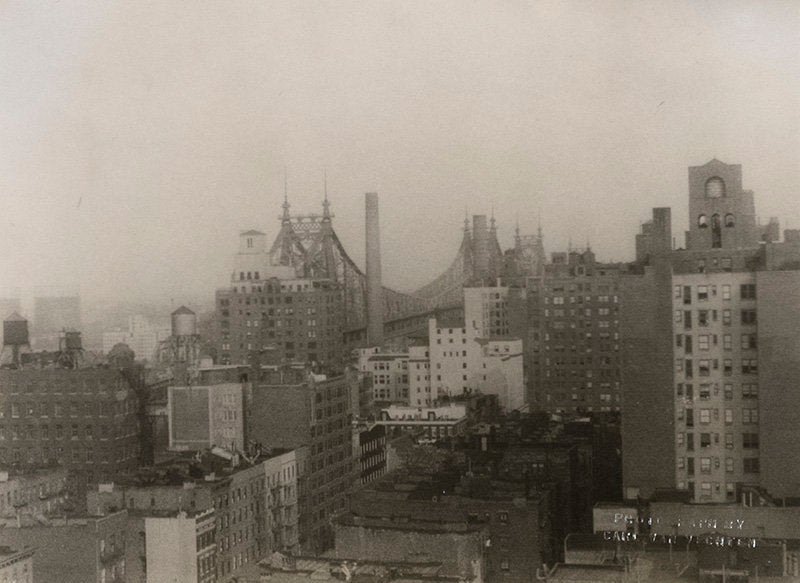 View from Aileen Pringle's Apartment, 227 East 57th St. - Carl Van Vechten | FFOTO