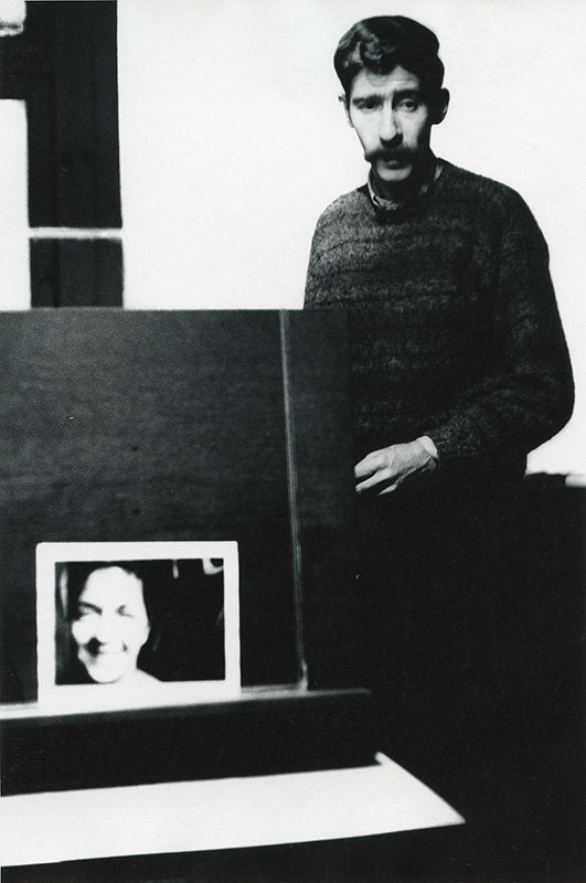 FFOTO-Dave Heath-Arthur Freed with photograph of his wife, Gene Smith, NYC