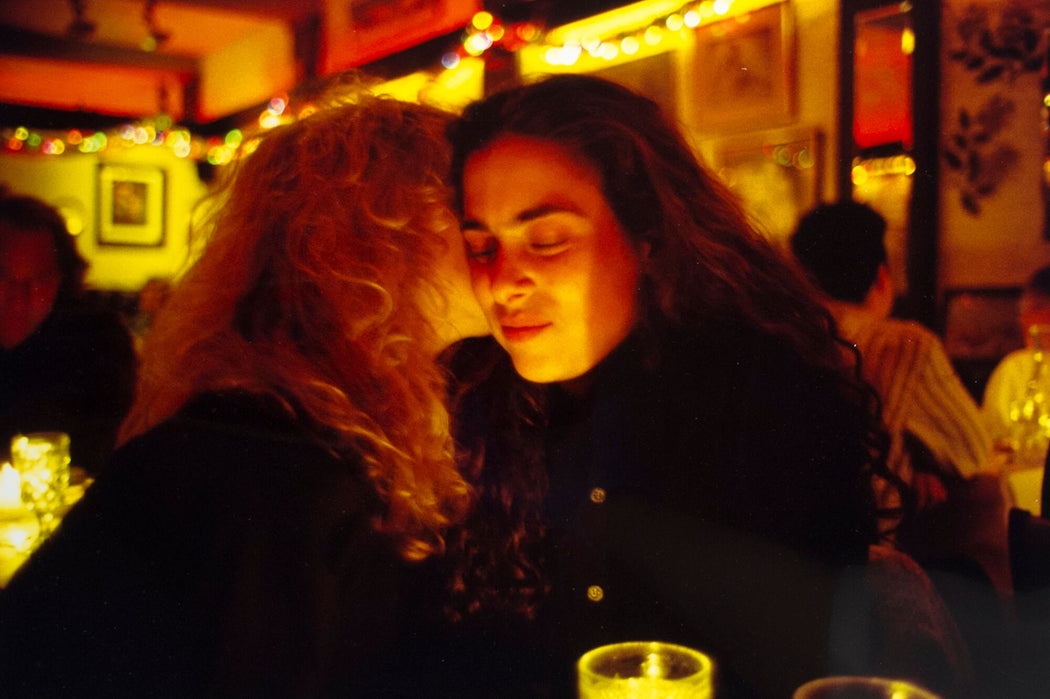 Lynette & Donna at Marion's Restaurant, NYC - Nan Goldin | FFOTO