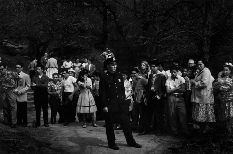 Drowning Scene, Central Park, New York City - Dave Heath | FFOTO