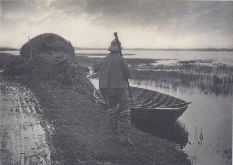 Plate XXII Marshman going to cut Schoof-Stuff - Peter Henry Emerson | FFOTO