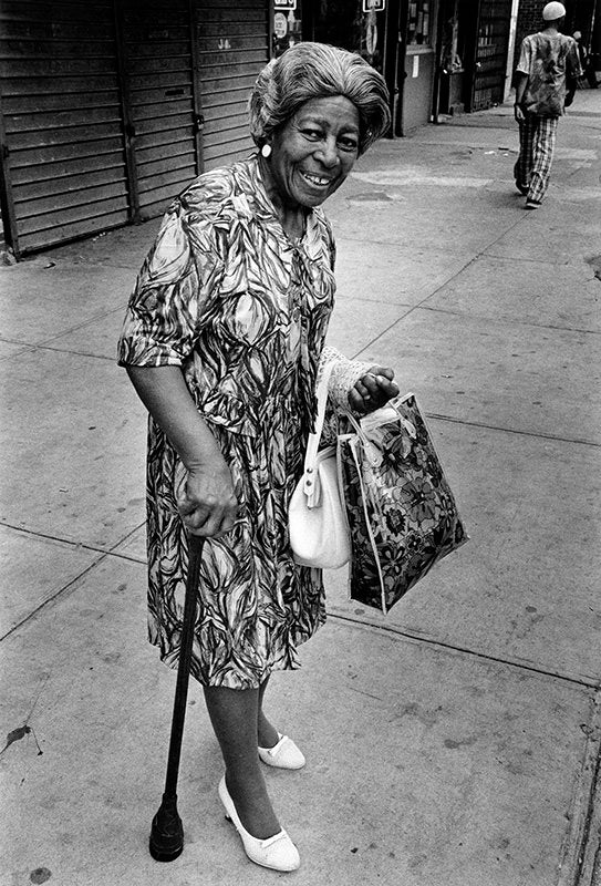 FFOTO-Dawoud Bey-A Woman at 7th Avenue and 138th Street