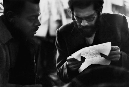 LeRoi Jones and Allen Ginsberg, 7 Arts Coffee Gallery, New York City - Dave Heath | FFOTO