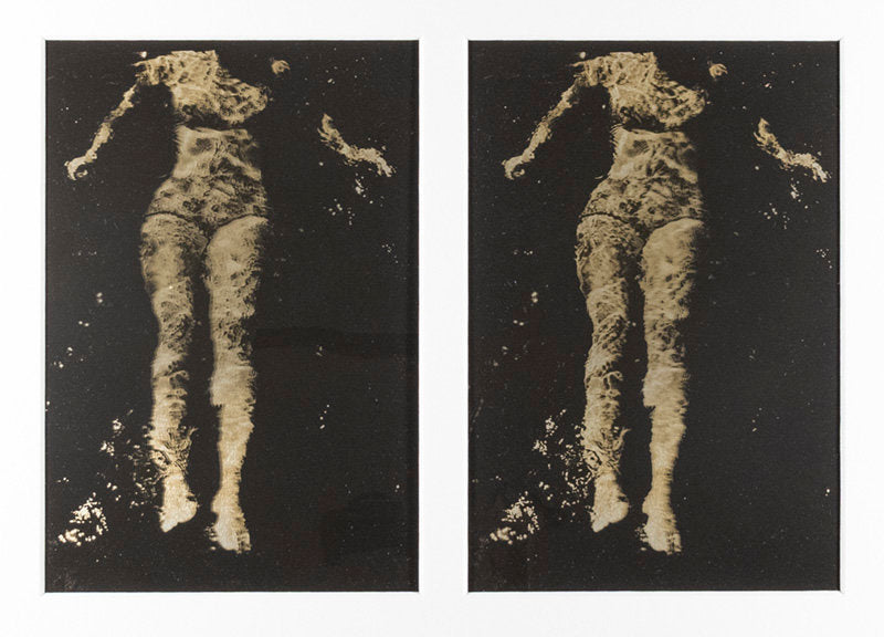 Untitled (Diane in water), Toronto, Ontario - Phil Bergerson