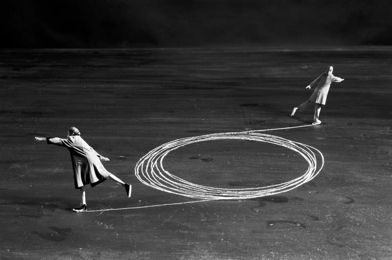 FFOTO-Gilbert Garcin-La mécanique des couples - The couple mechanism