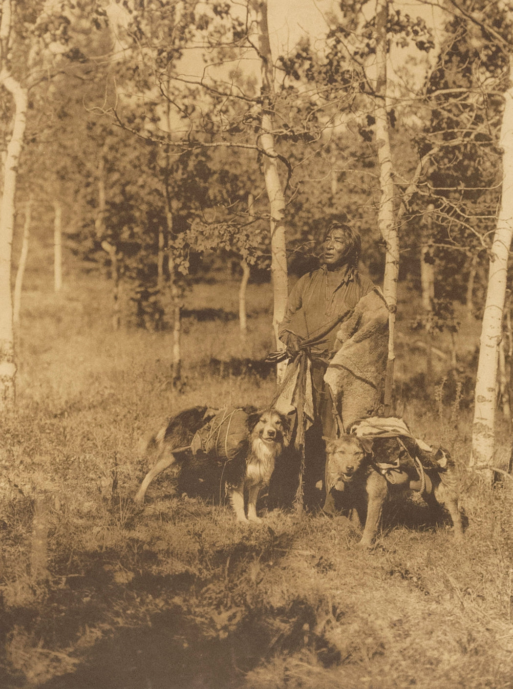 Assiniboin Hunter - Edward Sheriff Curtis | FFOTO