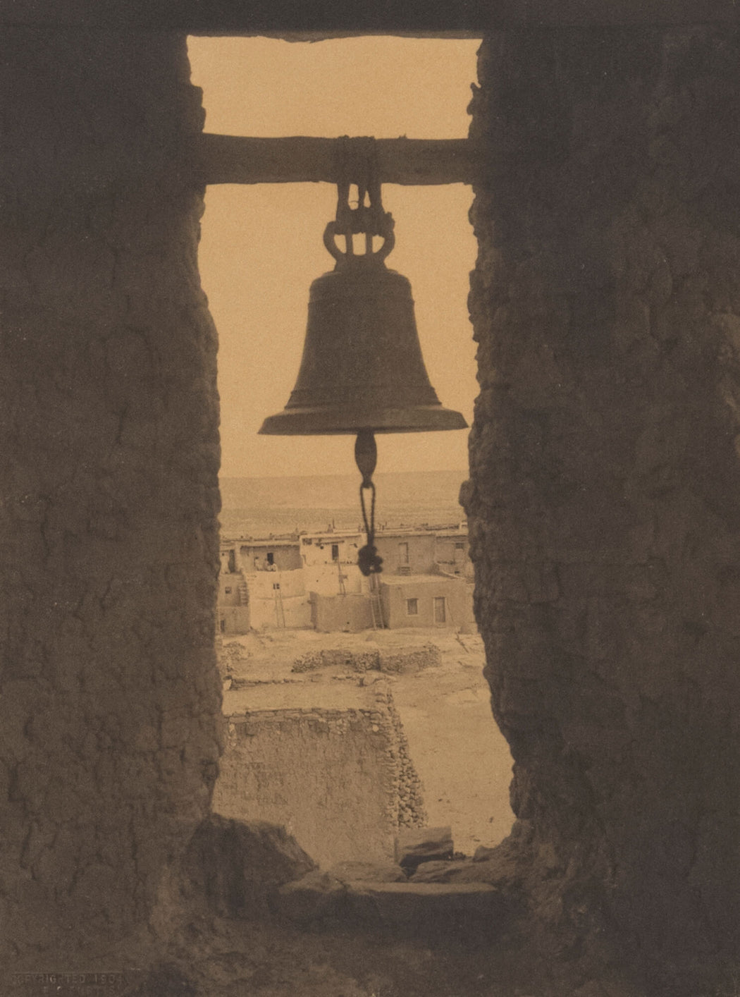 The Bell Tower of Acoma - Edward Sheriff Curtis | FFOTO
