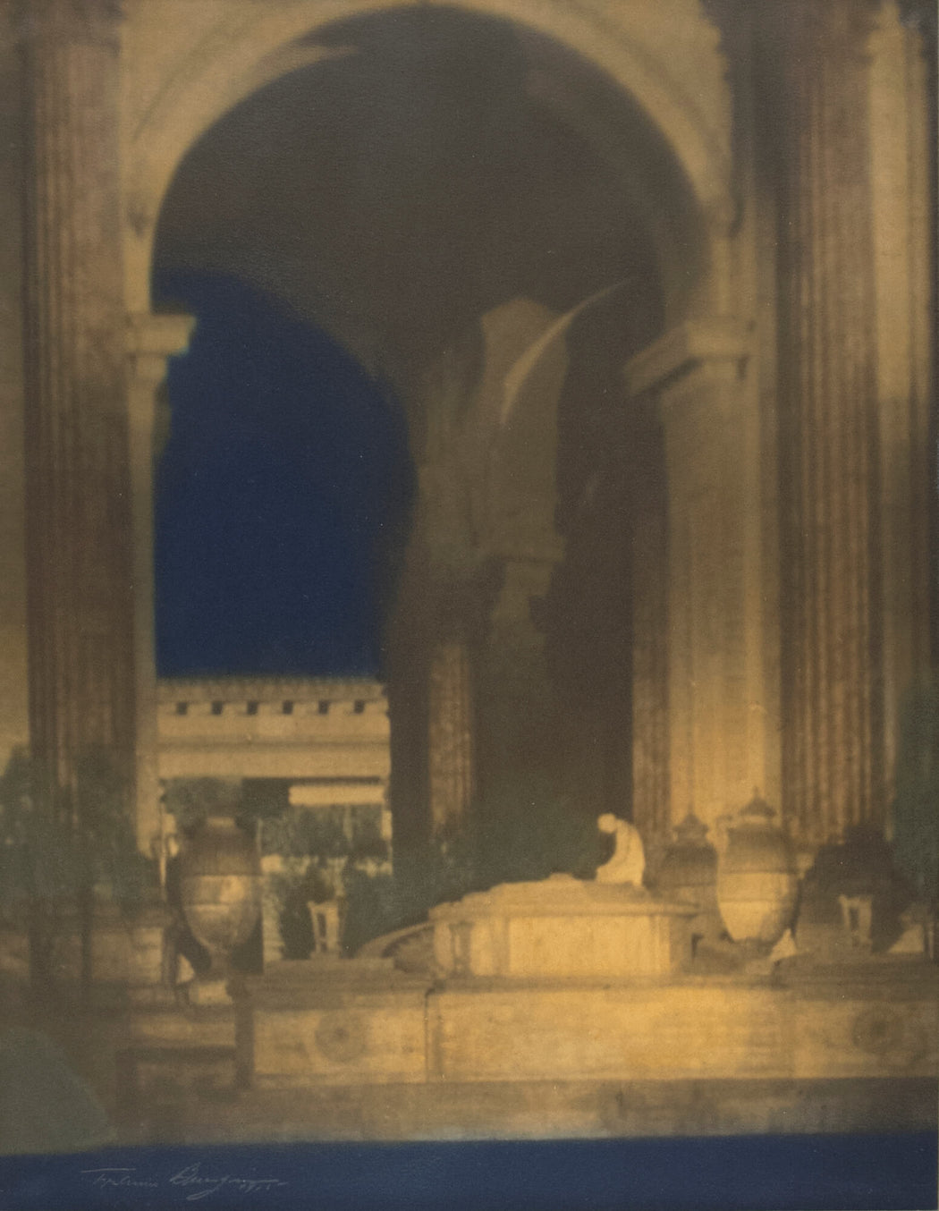 FFOTO-Francis Joseph Bruguière-Altar Before Rotunda, Palace of the Fine Arts, Panama Pacific International Exposition