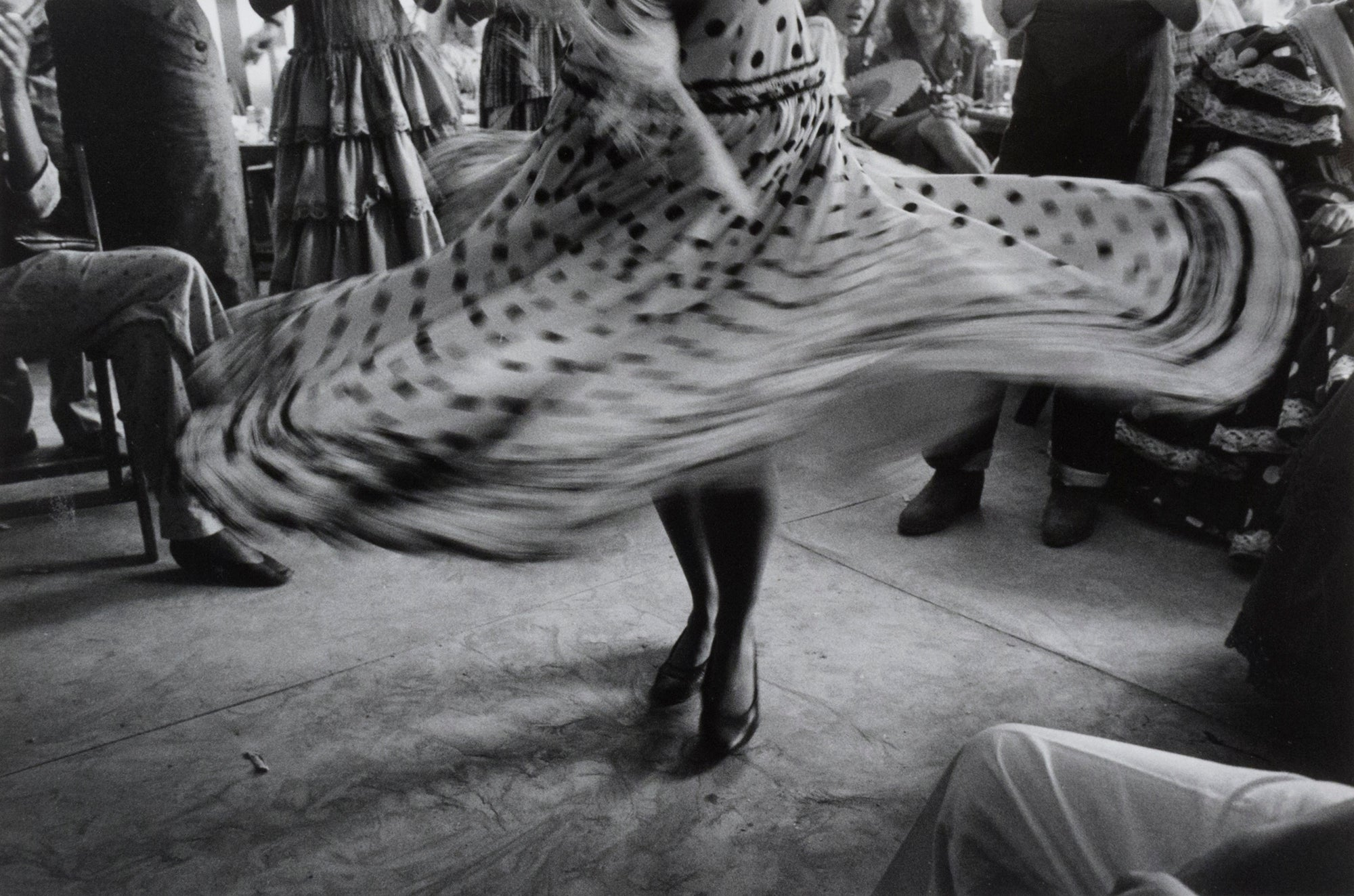 Dancer's skirt at a fair, Seville, Spain - Inge Morath | FFOTO