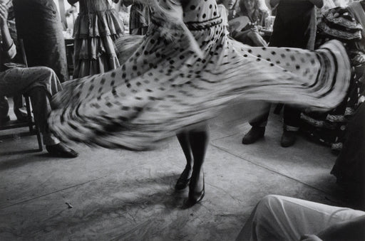 FFOTO-Inge Morath-Dancer's skirt at a fair, Seville, Spain