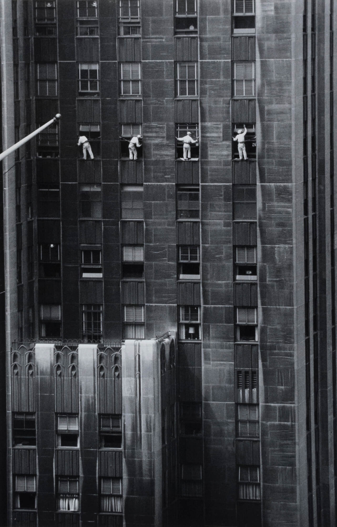 Forty-Eighth Street window washers, New York City, USA - Inge Morath | FFOTO