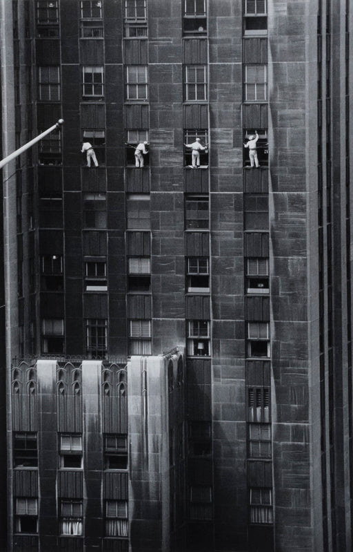 FFOTO-Inge Morath-Forty-Eighth Street window washers, New York City, USA