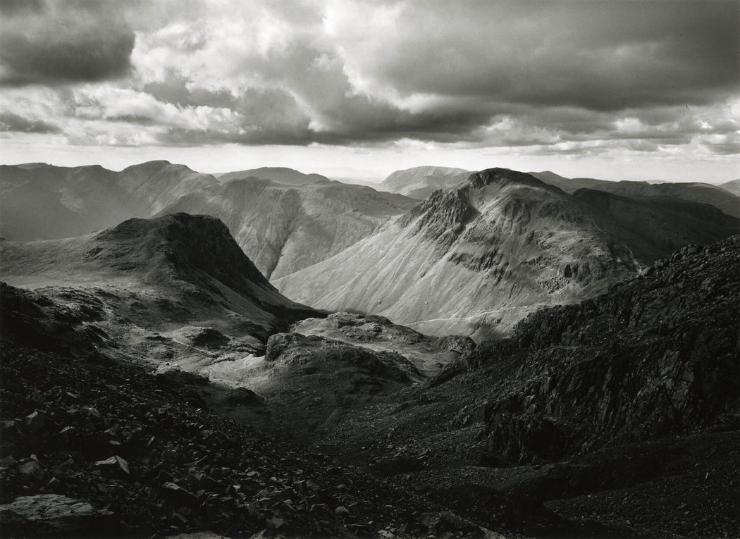 Great Gable from Scafell, Cumbria - John Davies | FFOTO