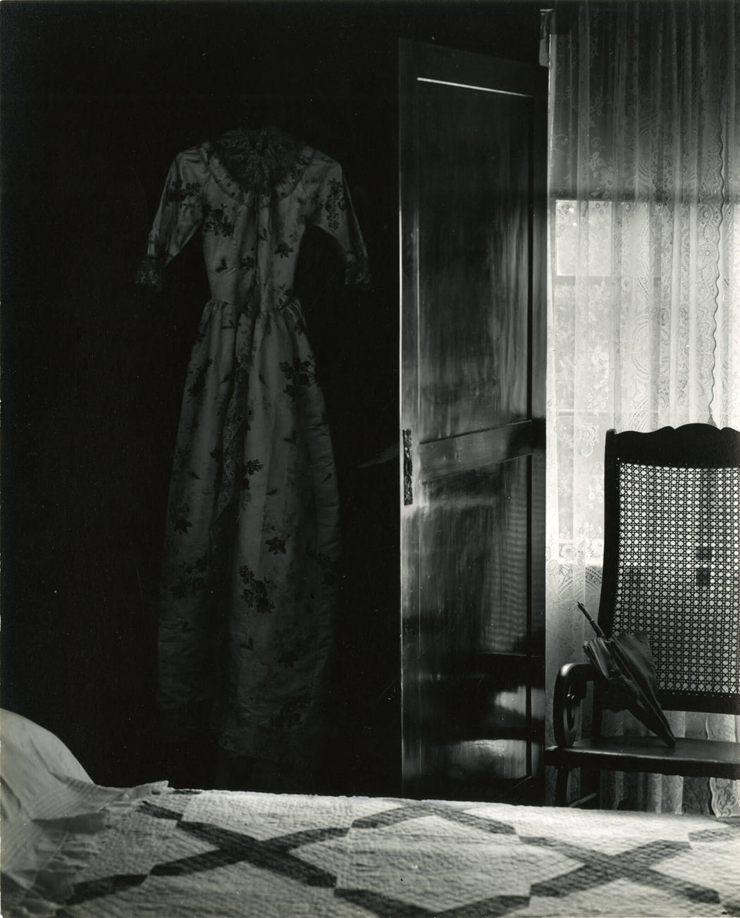 Untitled (bed, chair, and dress) - Wynn Bullock | FFOTO