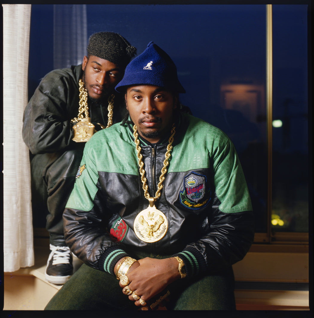 Eric B & Rakim at the Kensington Hilton Hotel, London, UK, 6 November, 1987,