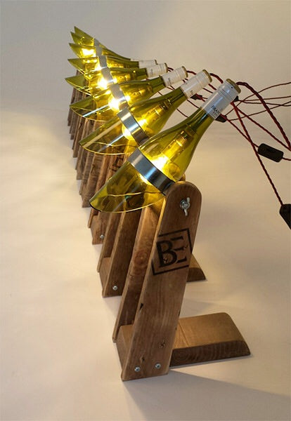 Philip - The wine bottle lamp