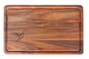 Cutting Board Kiaat - Bird Rectangular