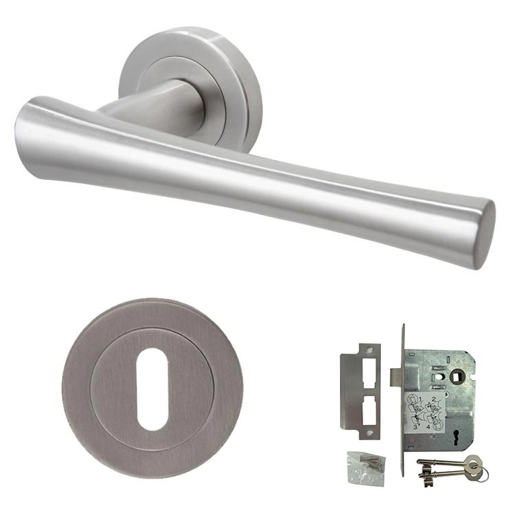 Calini Premium 304 Stainless Steel Lever Handle Mortice - BH1007