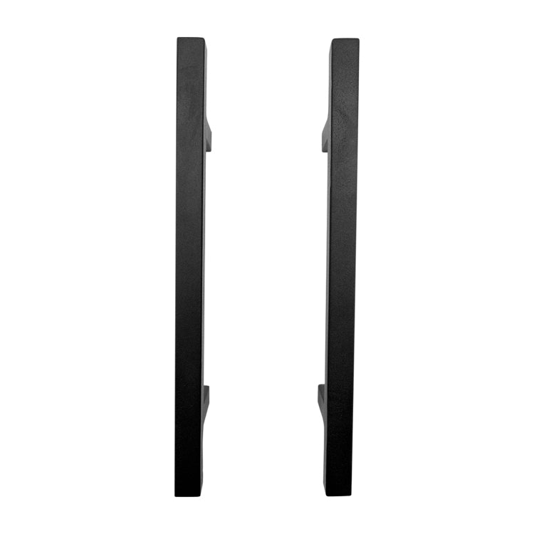 300mm X 16mm Black Square Pull Handles (Pair)