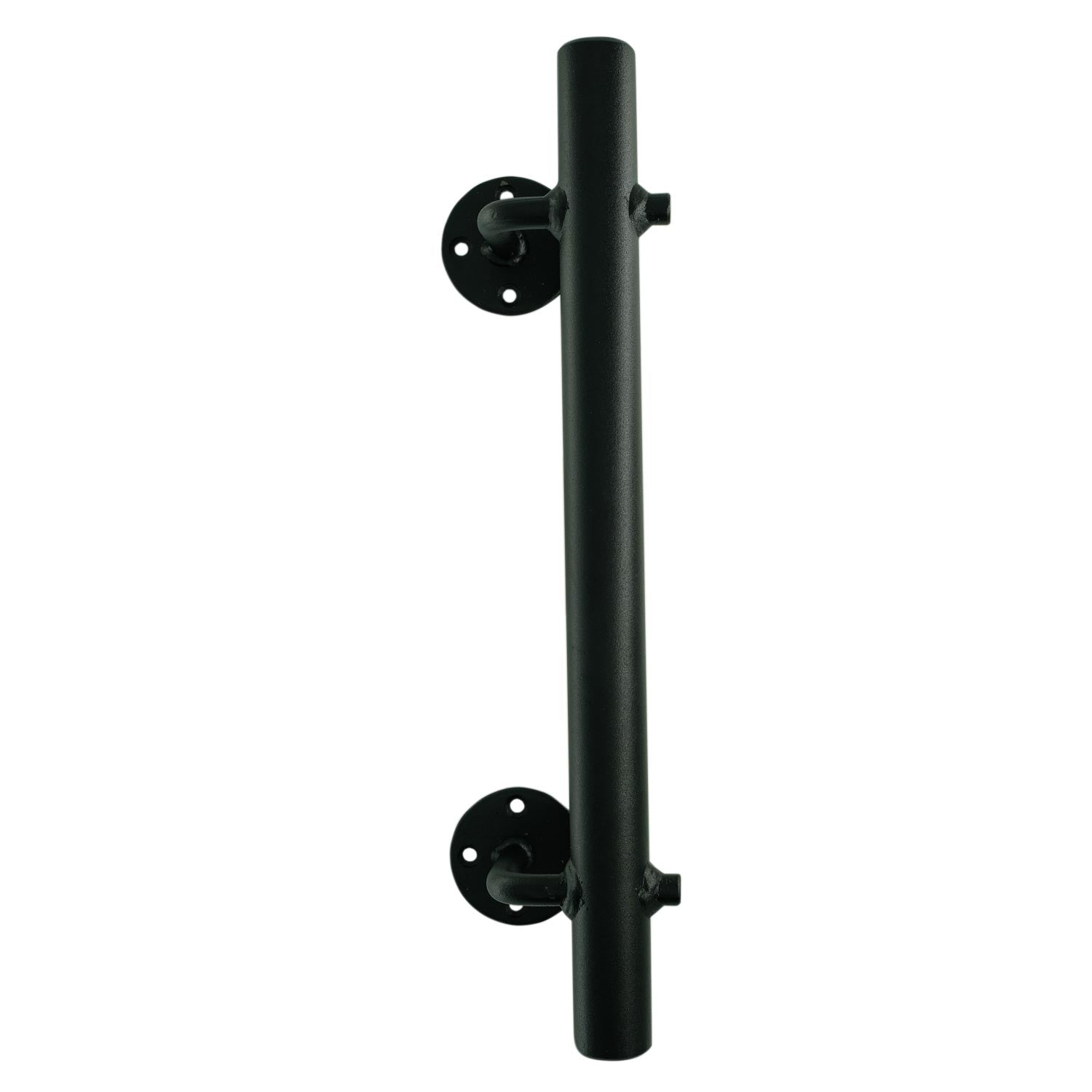AV7 Round Matt Black Avax Door Pull Handle (Each)
