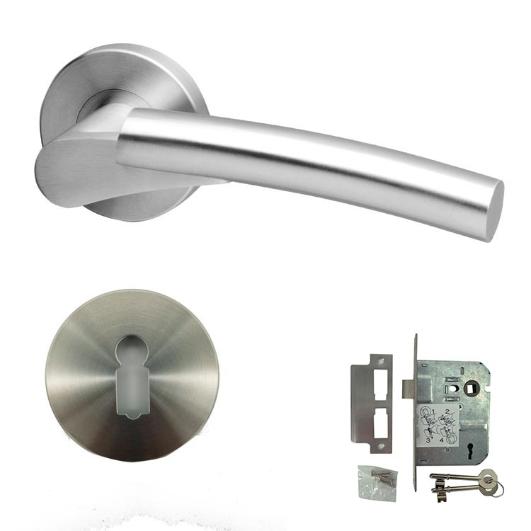 Form Stainless Steel Door Lever Handle - BHCHAMA