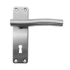 Stainless Steel Door Lever Handle (Keyhole) - BHCOUPE NAMSOS