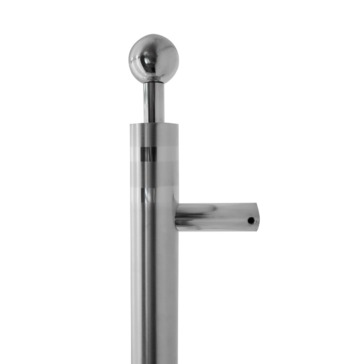 Stainless Steel Ball Pull Handles 560mm (Pair)-BHGY139
