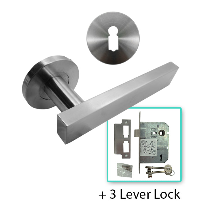 Stainless Steel Lever Handle 304 - BHLATHI ROUND