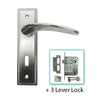 Mild Steel MV  Lever Handle -BHMV002