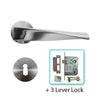 Stainless Steel Mortice Door Lever Handle - BHNEXO