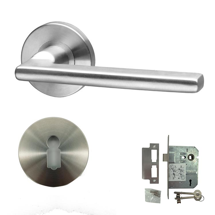 Form Stainless Steel Door Lever Handle Mortice - BHPELLO