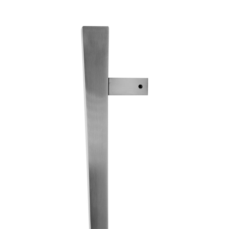 Stainless Steel Square Handle 480mm (Pair)-BHQ2511BTB