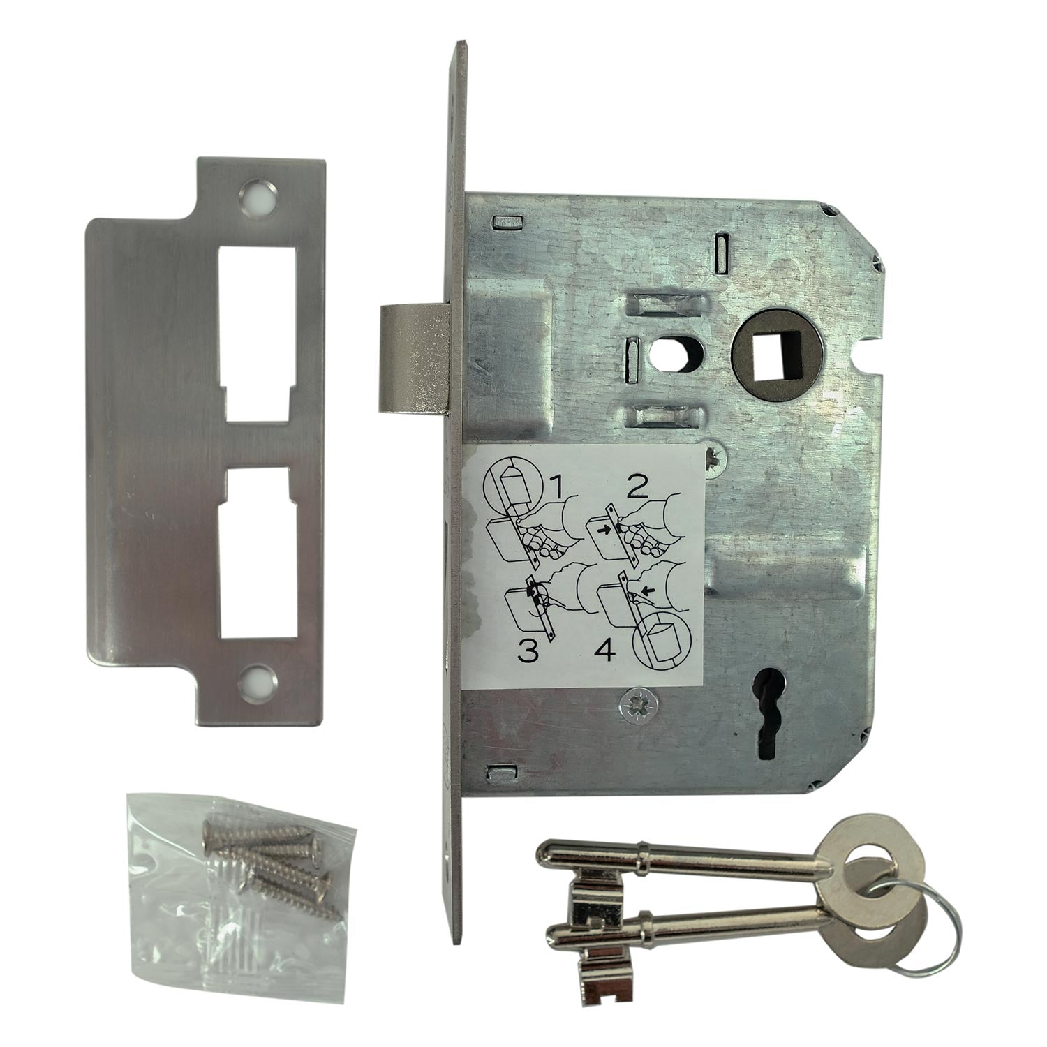 3 Lever Lock - BL3CR