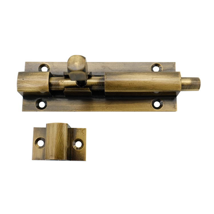 Heavy Duty Brass Barrel Door Bolt 100mm