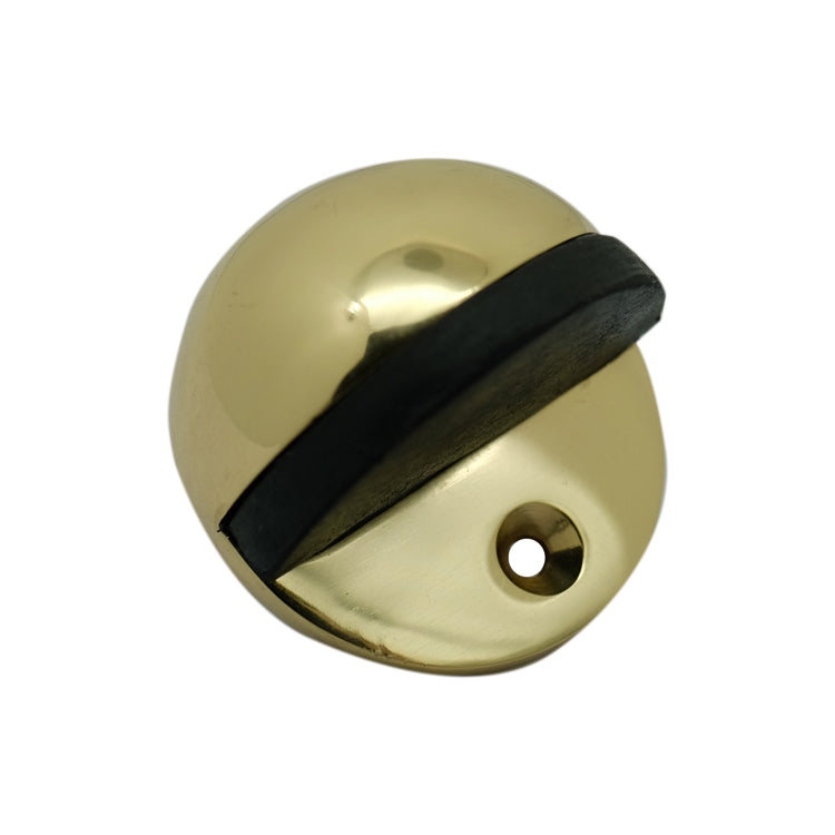 Satin Chrome Door Stop (Floor Mounted)