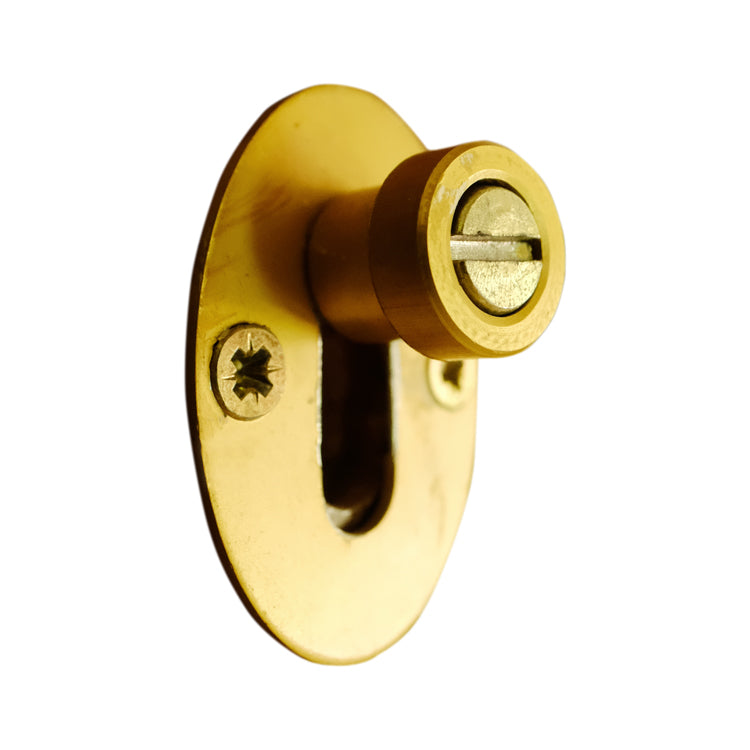 Van Acht Gold Barrel Door Bolt 80mm