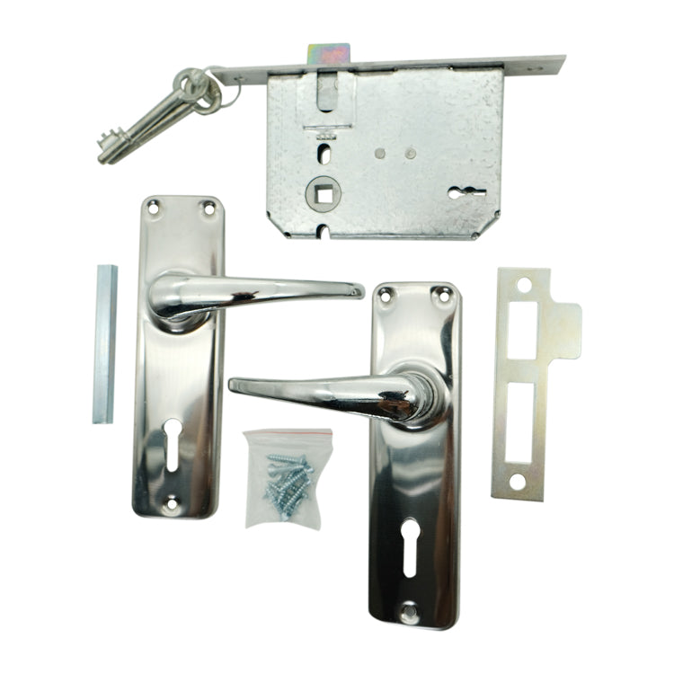 Lever Handle & Lock Combo - BL2CR LOCKSET