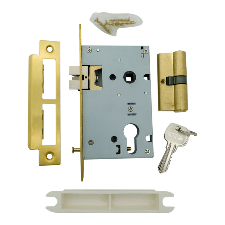 Double Cylinder Brass Lock